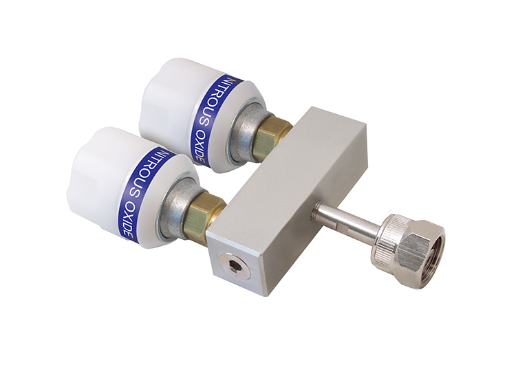 Twin Adaptor + NIST Probe + Nut 50mm Straight Bar
