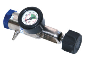 Pin Index Regulator + Therapy Outlet