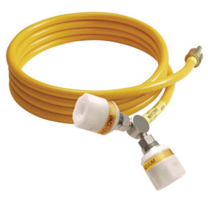 Twin Schrader Hose Assembly - BS Probe