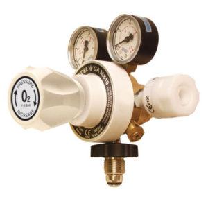 Two Stage Adjustable Medical Gas Regulators